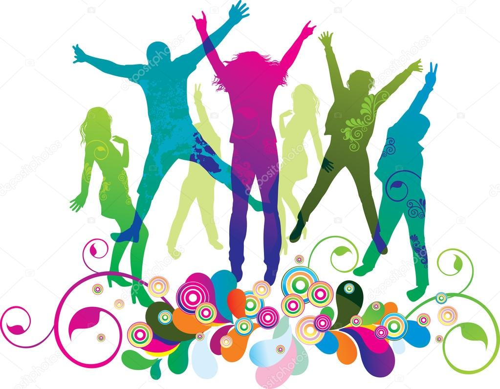 depositphotos 8347413-stock-illustration-young-on-the-party-the