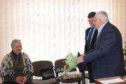 Ветерана медицини Миколу Гідзінського привітали з ювілеєм