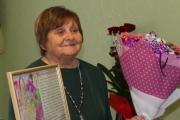 Директора будинку культури селища Благодатного Лесю Розенгард привітали з ювілеєм