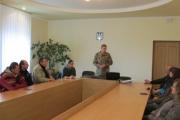 У центрі зайнятості відбувся семінар з орієнтації на службу в Збройних Силах України