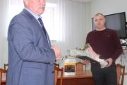 """Міський голова привітав керівника ДП """"Волиньвугілля"""" з ювілеєм"""