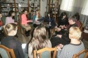 У центральній бібліотеці  відбулося засідання школи правових знань