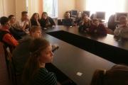 Школярі переглянули фільм «Край електросміття»