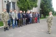 Нововолинські військовозобов'язані територіальної оборони проходять вишкіл на полігоні у Володимир-Волинську