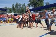 Нововолинці вибороли срібло Чемпіонату України з пляжного гандболу