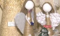 Вихованці дитячої школи мистецтв представили колекцію Різдвяних янголів