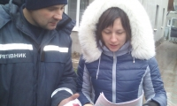 Нововолинські рятувальники навчали громадян правил безпеки у побуті