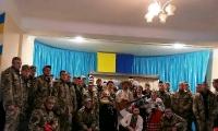 Нововолинський народний аматорський театр «Авантюра» привітав військових з Днем захисника України
