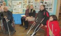 Члени «Довіри» - на виставці Валентини Михальської
