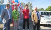У Нововолинську відкрили заправку для електромобілів
