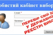 Відділ ведення Державного реєстру виборців працюватиме у вихідні дні