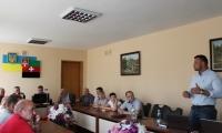 Проект будівництва очисних споруд презентували у міській раді